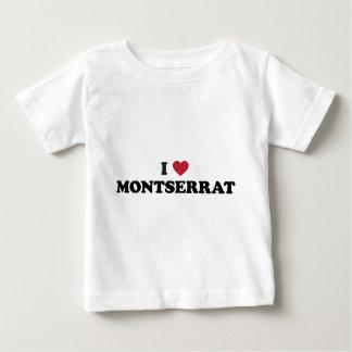 I Love Montserrat Baby T-Shirt