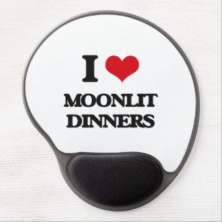 I Love Moonlit Dinners Gel Mouse Mats