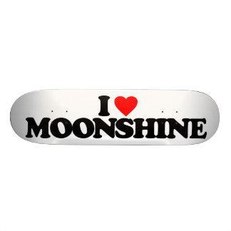 I LOVE MOONSHINE SKATE BOARD DECKS