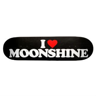 I LOVE MOONSHINE SKATE DECK