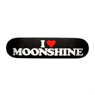 I LOVE MOONSHINE SKATEBOARD DECKS
