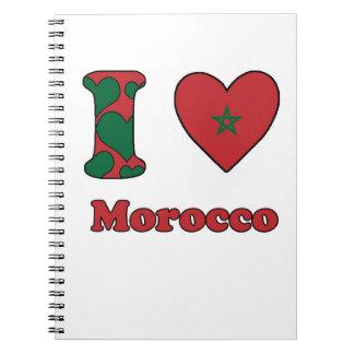 I love Morocco Notebooks