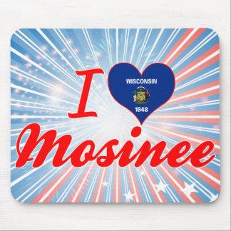 I Love Mosinee, Wisconsin Mousepads