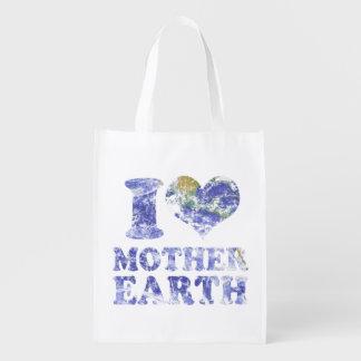I love mother earth reusable grocery bag