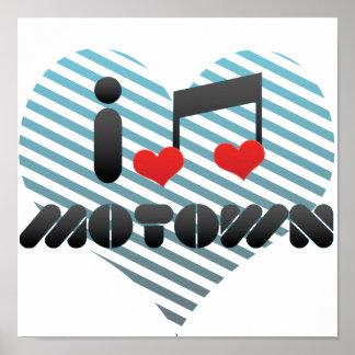 I Love Motown Poster
