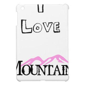 I Love Mountains iPad Mini Cover