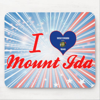 I Love MountIda, Wisconsin Mouse Pads