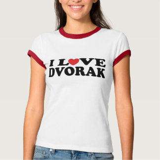 I Love Mozart T-shirt - Customized
