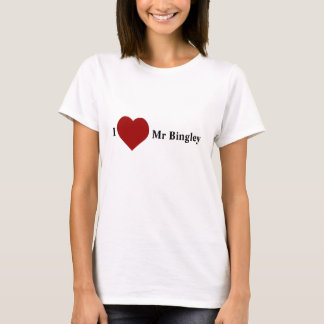 I Love Mr Bingley T-Shirt