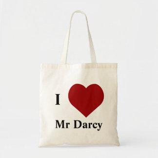 I love Mr Darcy Tote Bag