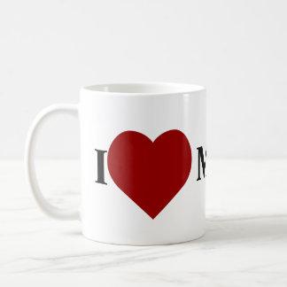 I love Mr Darcy Classic White Coffee Mug