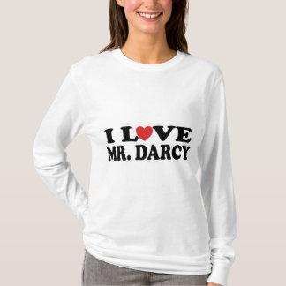 I Love Mr. Darcy Jane Austen Fan T-shirt