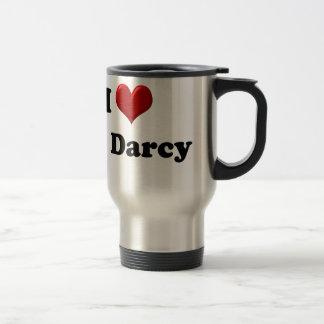 I Love Mr. Darcy Travel Mug