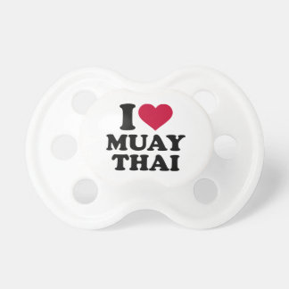 I love Muay Thai Pacifier