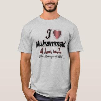 I love Muhammad, The messenger of Allah T-Shirt