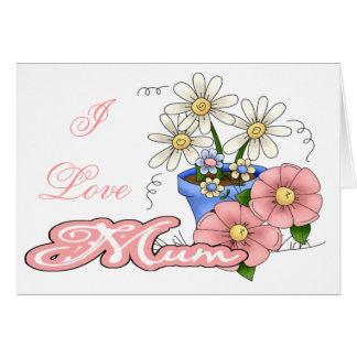 I love mum note card