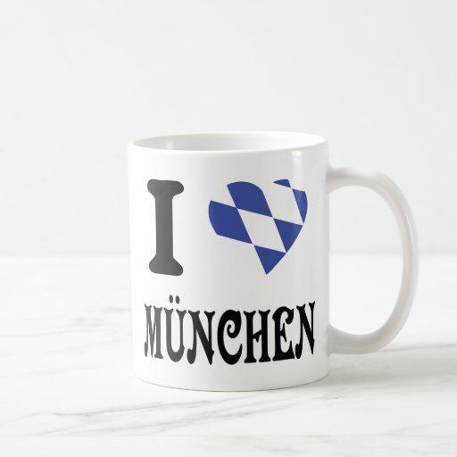 I love München icon Coffee Mugs
