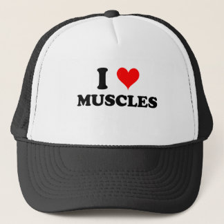 I Love Muscles Trucker Hat