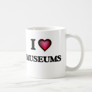 I Love Museums Coffee Mug