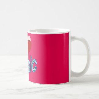 I Love Music 2 Coffee Mug