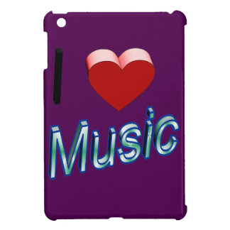 I Love Music 2 iPad Mini Cover