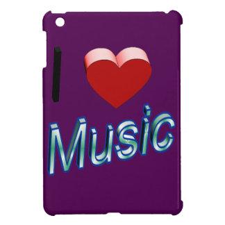 I Love Music 2 iPad Mini Covers