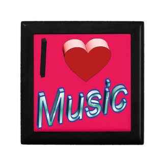 I Love Music 2 Jewelry Box