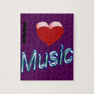 I Love Music 2 Jigsaw Puzzle