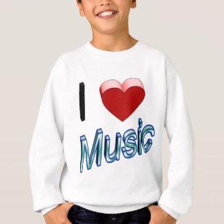 I Love Music 2 Sweatshirt