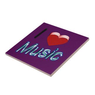I Love Music 2 Tile