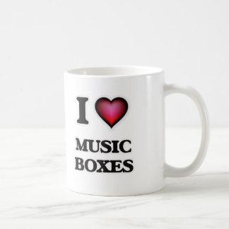 I Love Music Boxes Coffee Mug