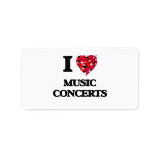 I Love Music Concerts