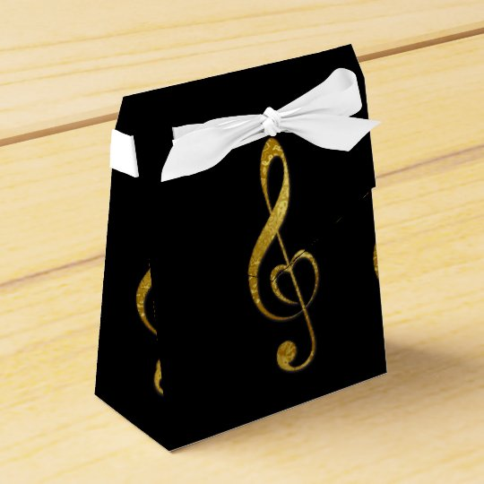 I love music favour box party favor boxes
