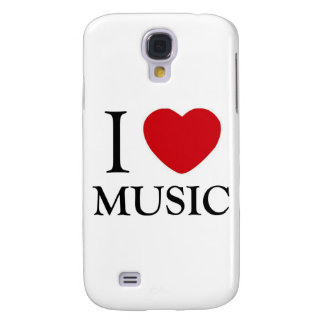 I Love Music Galaxy S4 Cases
