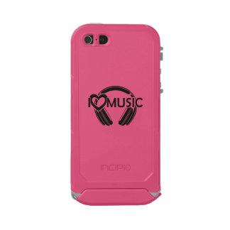 I love music headphones incipio ATLAS ID™ iPhone 5 case