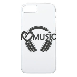 I love music headphones iPhone 8/7 case