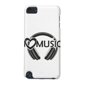 I love music headphones iPod touch (5th generation) cases