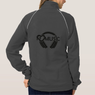 I love music headphones jacket