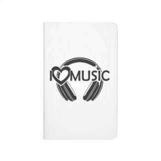 I love music headphones journal