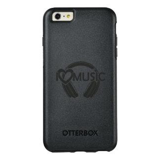 I love music headphones OtterBox iPhone 6/6s plus case