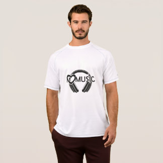 I love music headphones T-Shirt
