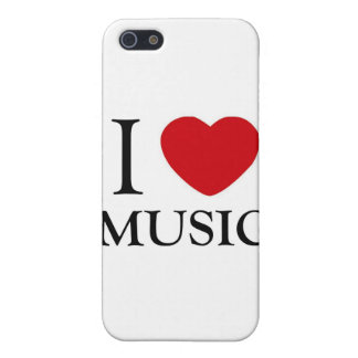 I Love Music iPhone 5 Covers