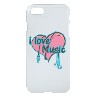 I love music iPhone 8/7 case