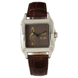 I love music - jewellery watch