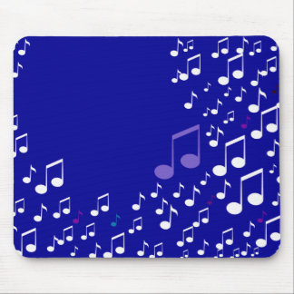I Love Music_Mousepad_by Elenne Mouse Pad