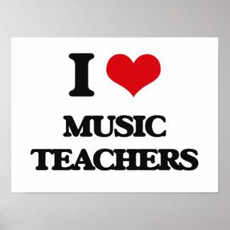 I love Music Teachers Print