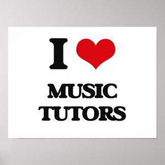 I love Music Tutors Poster