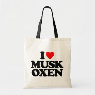 I LOVE MUSK OXEN
