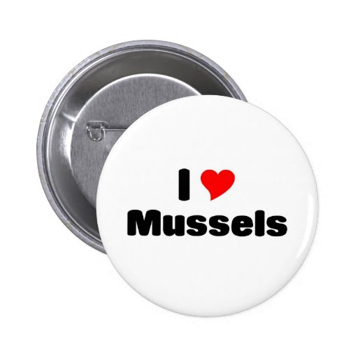 I love mussels pin