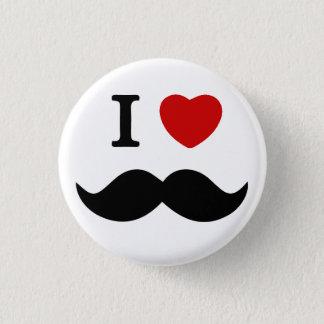 I love mustache button